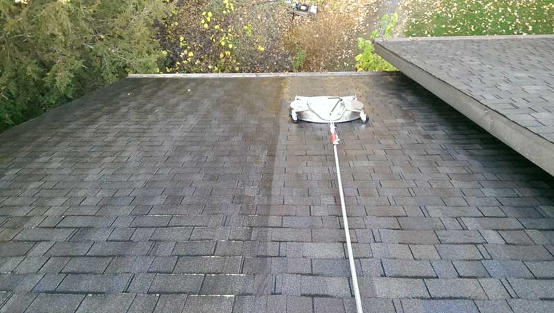 roof cleaning sauk rapids
