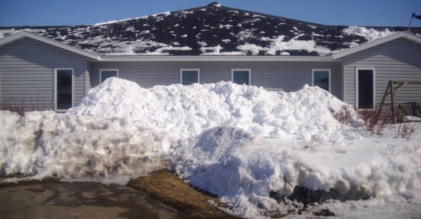 Snow and Ice Roof Removal